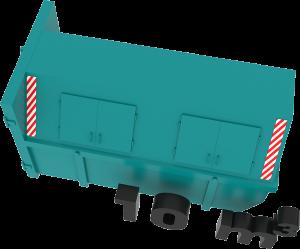 10m3 container bek & verburg