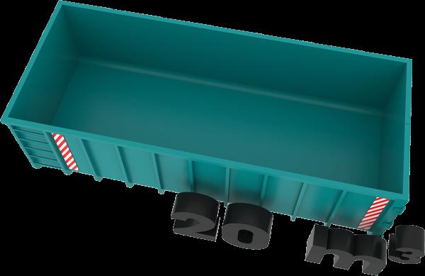 20m3 container bek & verburg