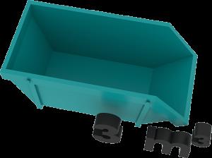 3m3 container bek & verburg