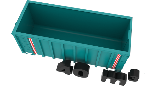40m3 container bek & verburg